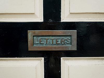 Rusty Letterbox Door