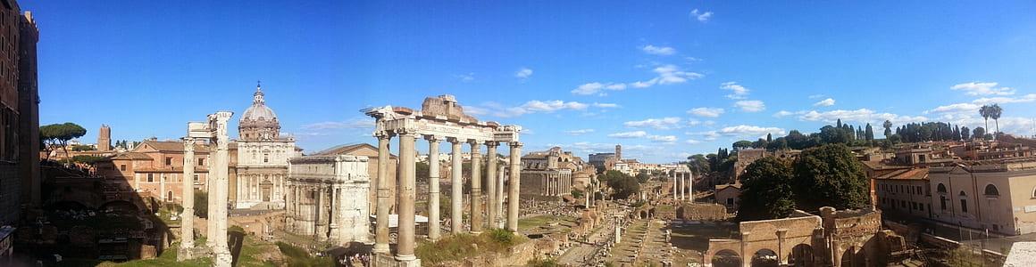 Partenon during daytime