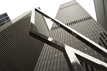 New York City Gray Skyscrapers