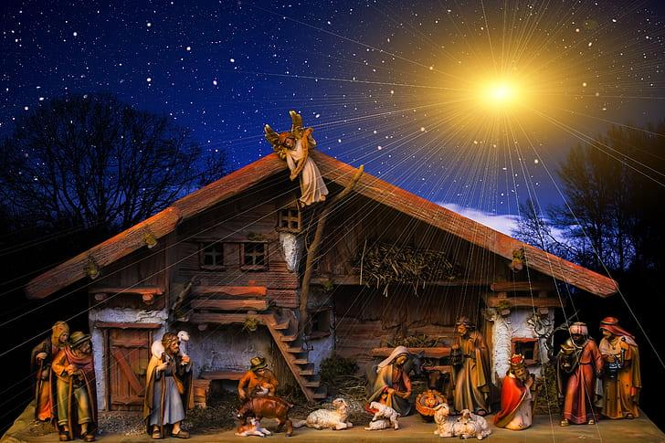 photo of The Nativity illustration