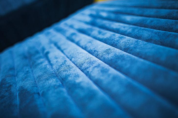 Soft blue sofa
