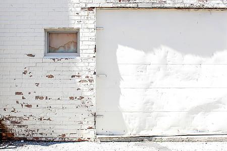 white roller shutter