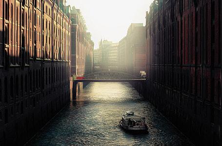 photo of boat in river