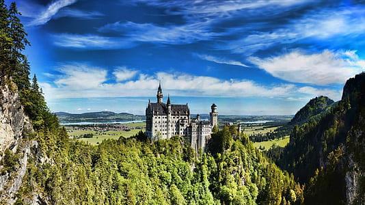 Neuschwanstein Castle at daytime