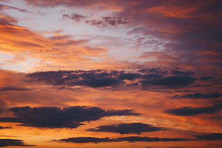 Scenic Photography of the Sky