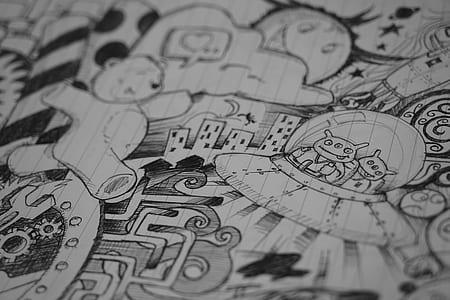 doodle pen art