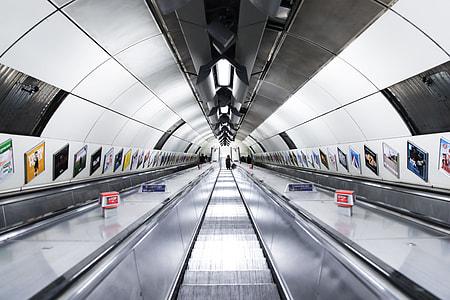Entering the London Underground