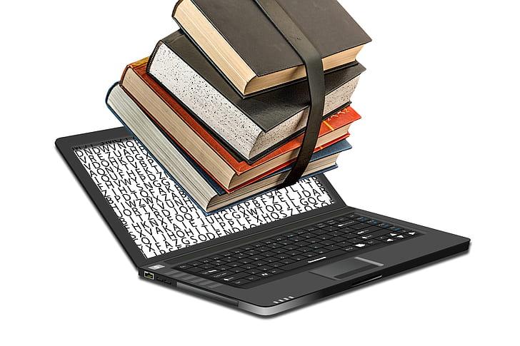 several reading books
