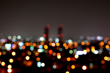 bokeh photography of city lights during nighttime