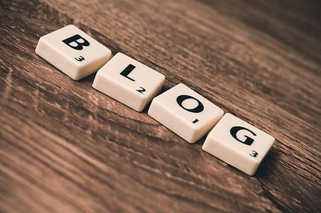 Blog scrabble tiles