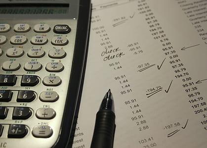 black and grey scientific calculator