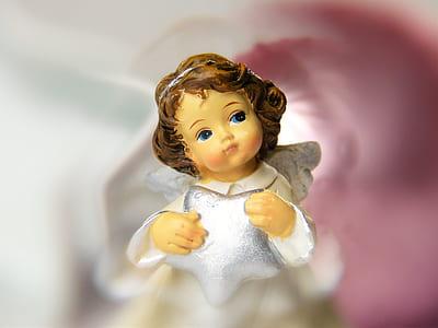 angel ceramic figurine