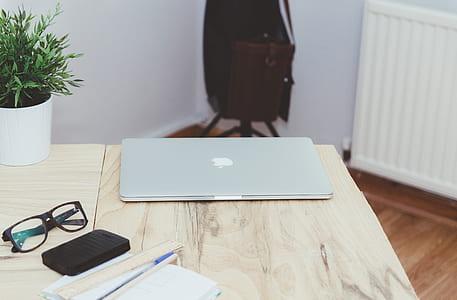 MacBook Air on top table