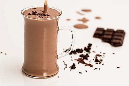 mug of chocolate flavor beverage