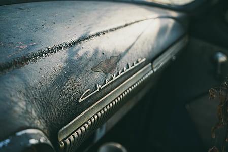 classic grey Chevrolet vehicle