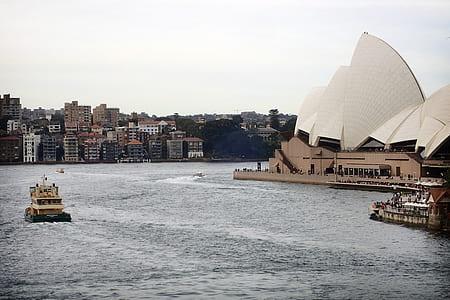 boat near Sydney Opera House Australia