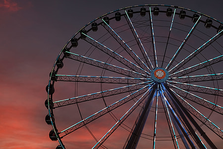 The Great Smoky Mountain Wheel in Pigeon Forge