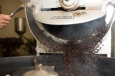 gray Probat coffee machine