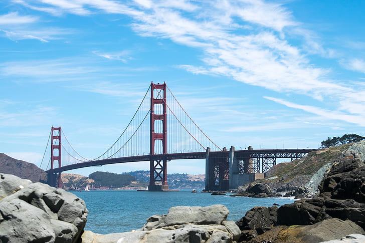 Golden Gate Bridge in San Francisco California Under Blue Sky during Daytime