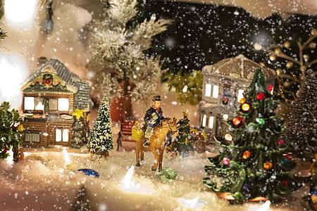 Christmas-themed wall decor