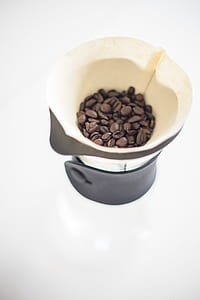 Photo of Coffee Beans in Brown Mug