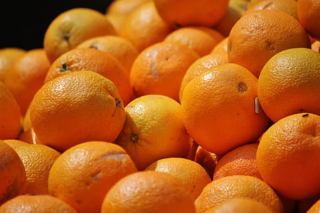pile of orange fruits