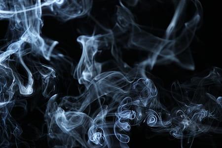 graphic smoke illustration