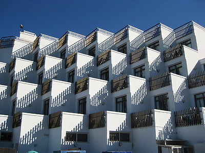white concrete residential buildings during daytime