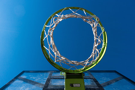 green basketball ring