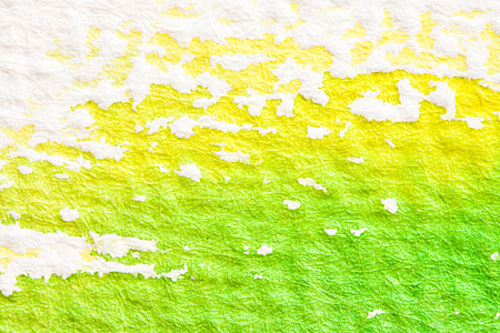 green, white, textile, watercolour, painting technique, soluble in water