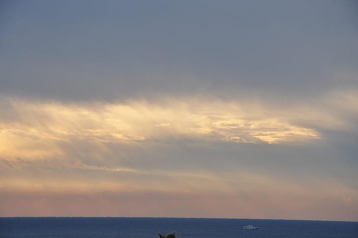 White Cloud Sky