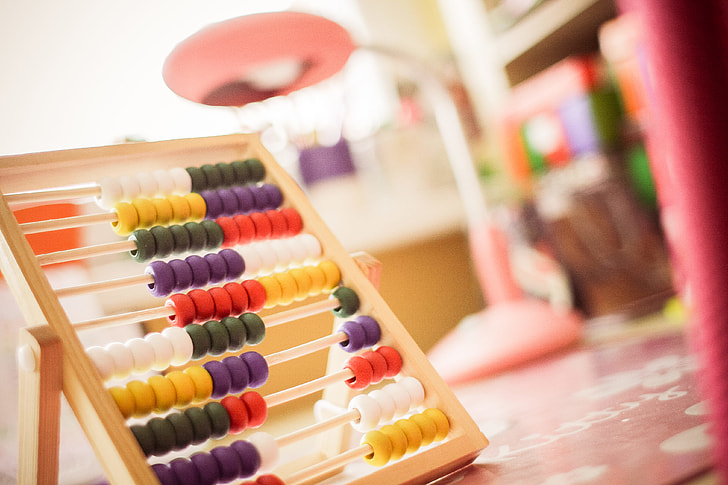 Childrens Wooden Abacus