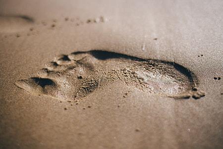 Footstep Sand