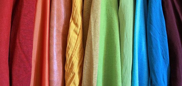 assorted-color textile lot