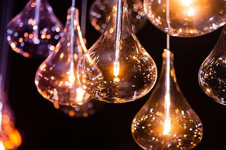 brown light bulbs