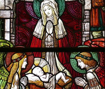 Nativity Scene illustration