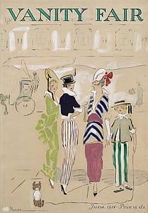 VAnity Fair painting