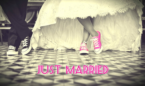 Just Married graphics