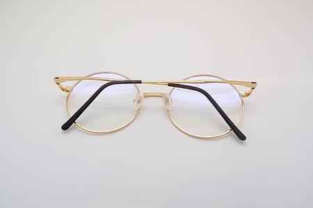 Gold Framed Eye Glasses