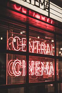 Central Cinema LED singane ]