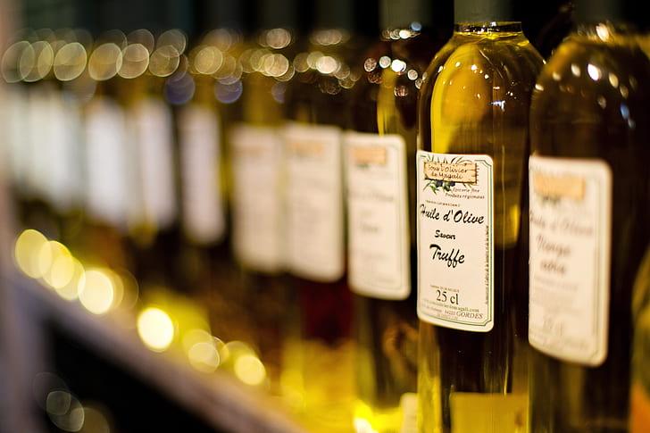 olive labeled bottle