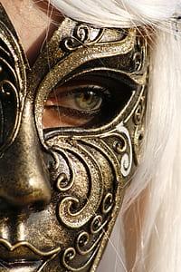 bronze steel mask
