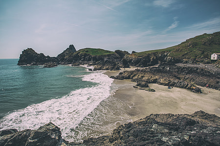 Kynance Cove is a gorgeous bay set on the Lizard peninsula in Cornwall, England. Image captured with a Canon 5D
