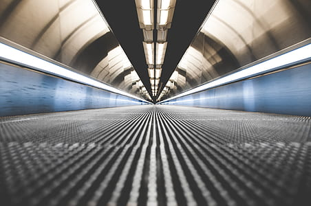travelator, walkway, travel, airport, journey, motion