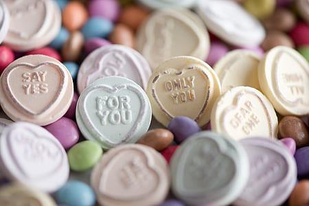 assorted-color medication tablet lot