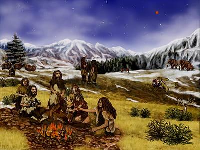 photo of Native American illustration