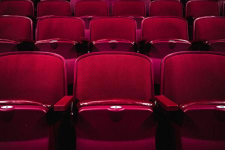 Cinema seats at the movies