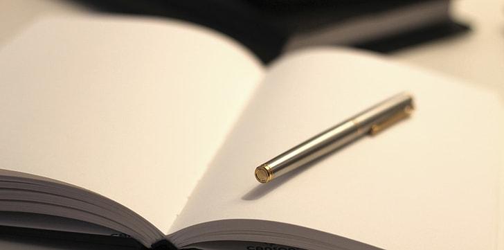 Royalty-Free photo: Shallow focus photography of silver pen | PickPik