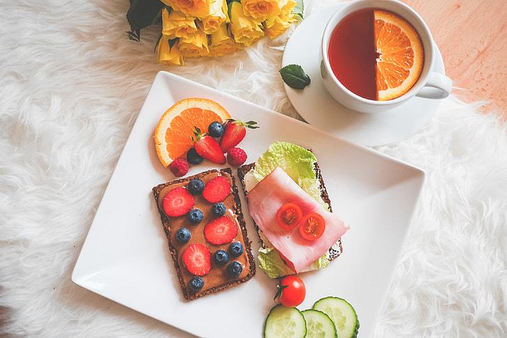 Lazy Sunday Healthy Breakfast