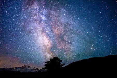 star on sky photography